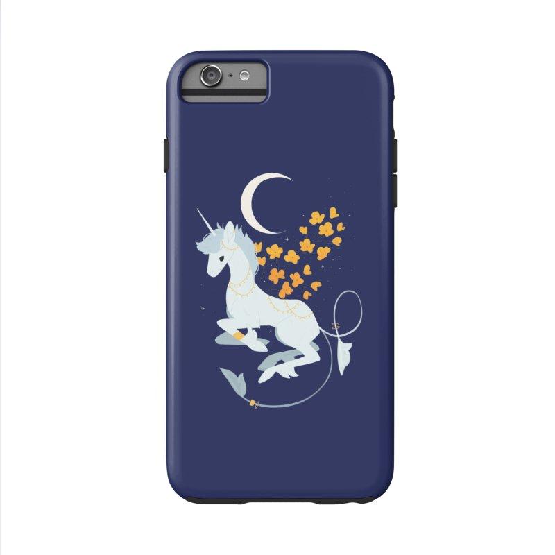 Unicorn Moon Accessories Phone Case by StrangelyKatie's Store