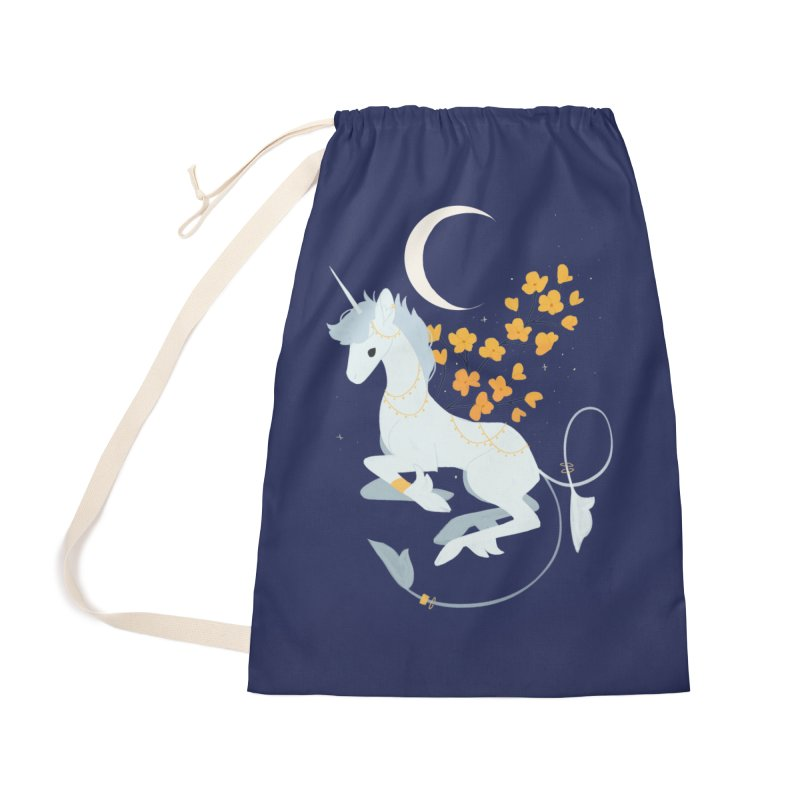 Unicorn Moon Accessories Bag by StrangelyKatie's Store