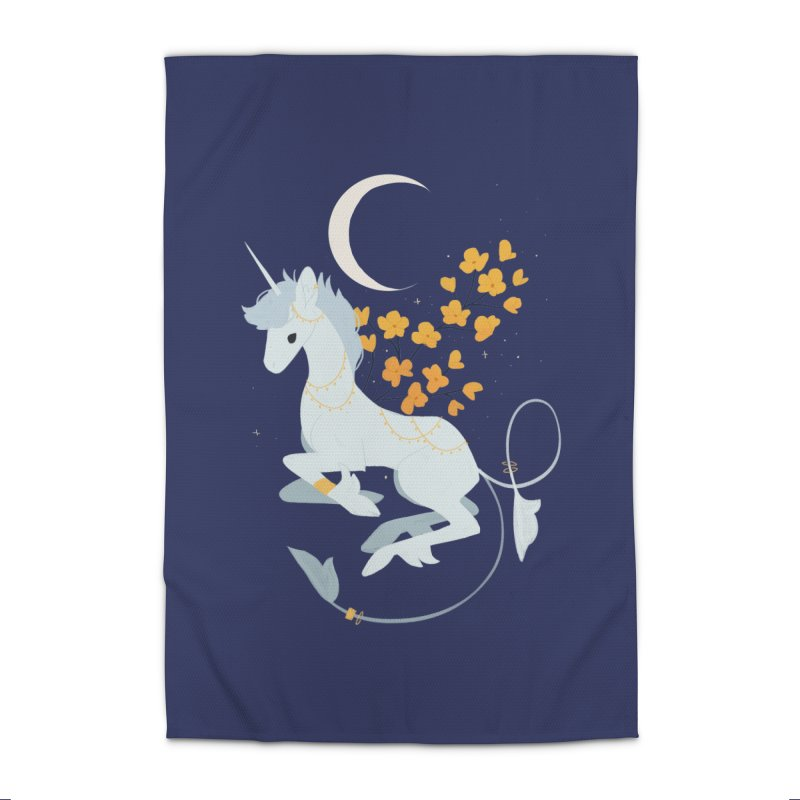 Unicorn Moon Home Rug by StrangelyKatie's Store