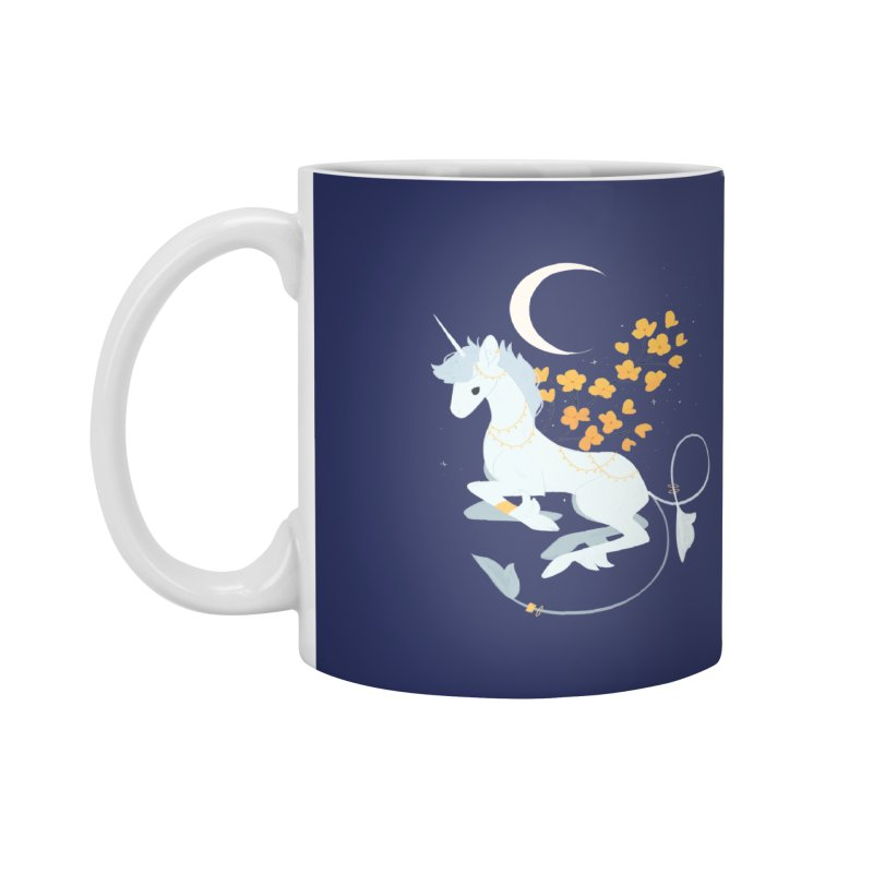 Unicorn Moon Accessories Mug by StrangelyKatie's Store