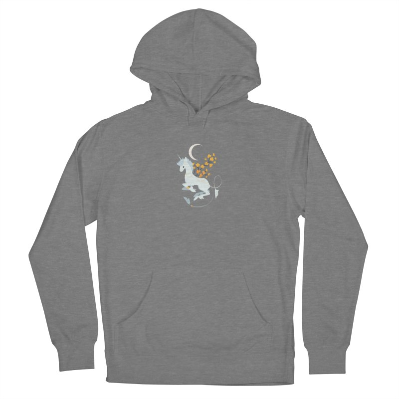 Unicorn Moon Men's Pullover Hoody by StrangelyKatie's Store