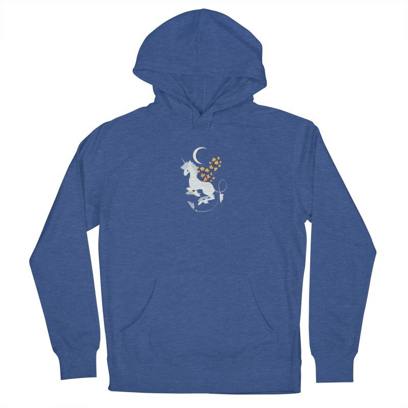 Unicorn Moon Men's Pullover Hoody by StrangelyKatie's Store