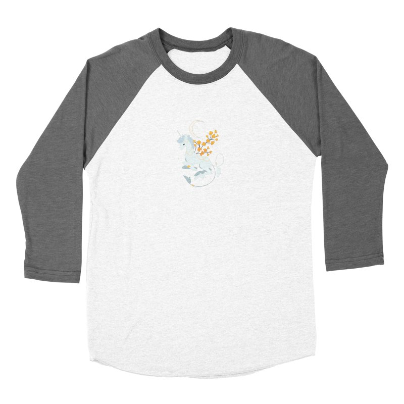 Unicorn Moon Women's Longsleeve T-Shirt by StrangelyKatie's Store