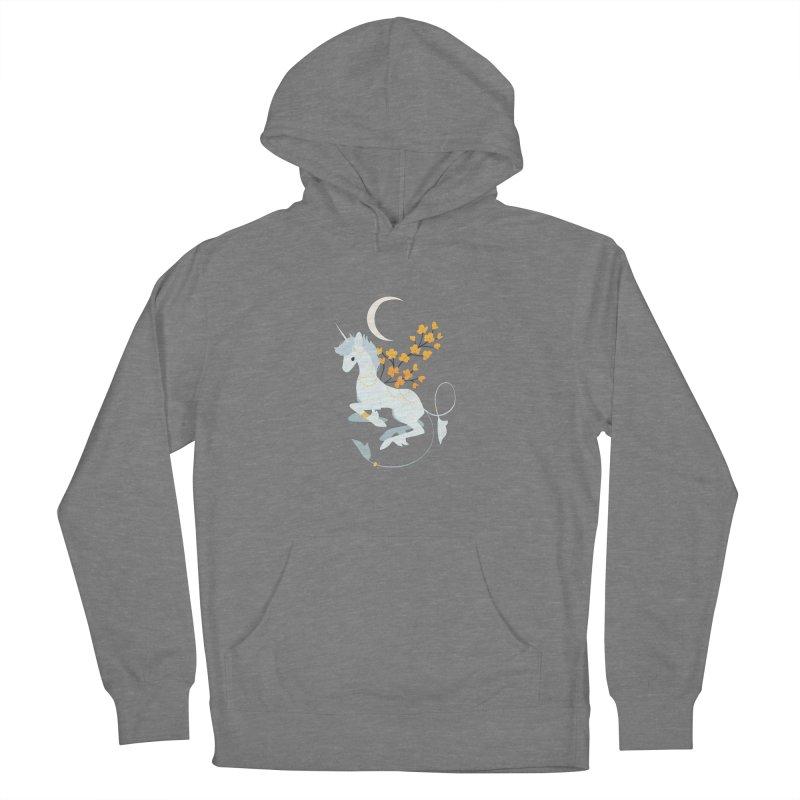 Unicorn Moon Women's Pullover Hoody by StrangelyKatie's Store