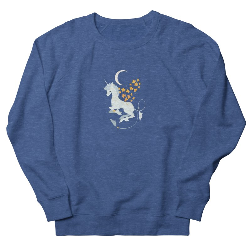 Unicorn Moon Men's Sweatshirt by StrangelyKatie's Store
