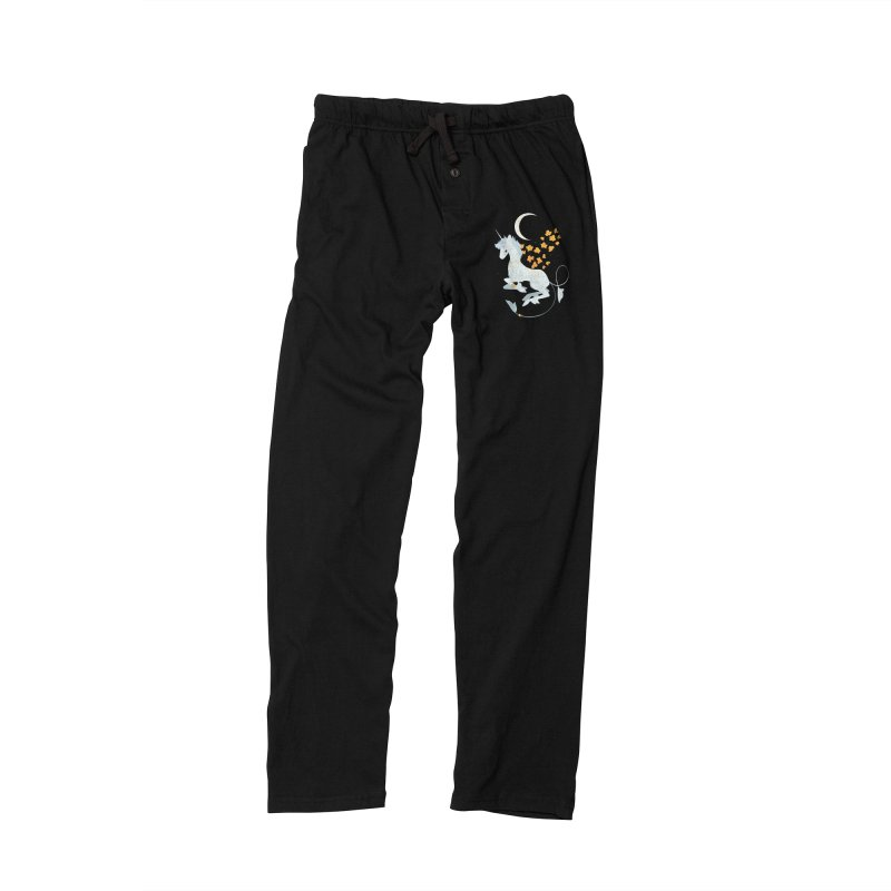 Unicorn Moon Men's Lounge Pants by StrangelyKatie's Store