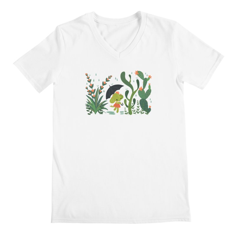 Aloe Pup Men's Regular V-Neck by StrangelyKatie's Store