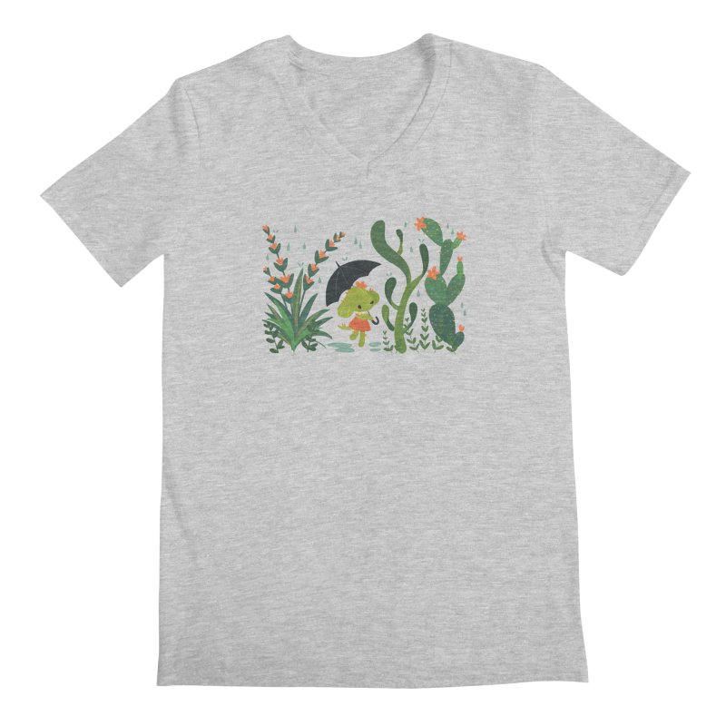 Aloe Pup Men's V-Neck by StrangelyKatie's Store