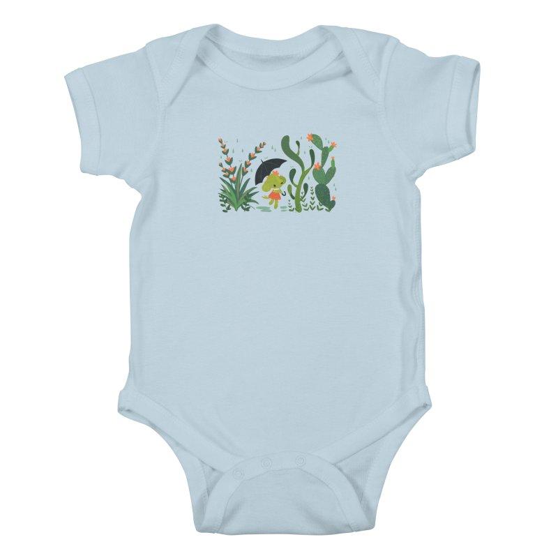 Aloe Pup Kids Baby Bodysuit by StrangelyKatie's Store