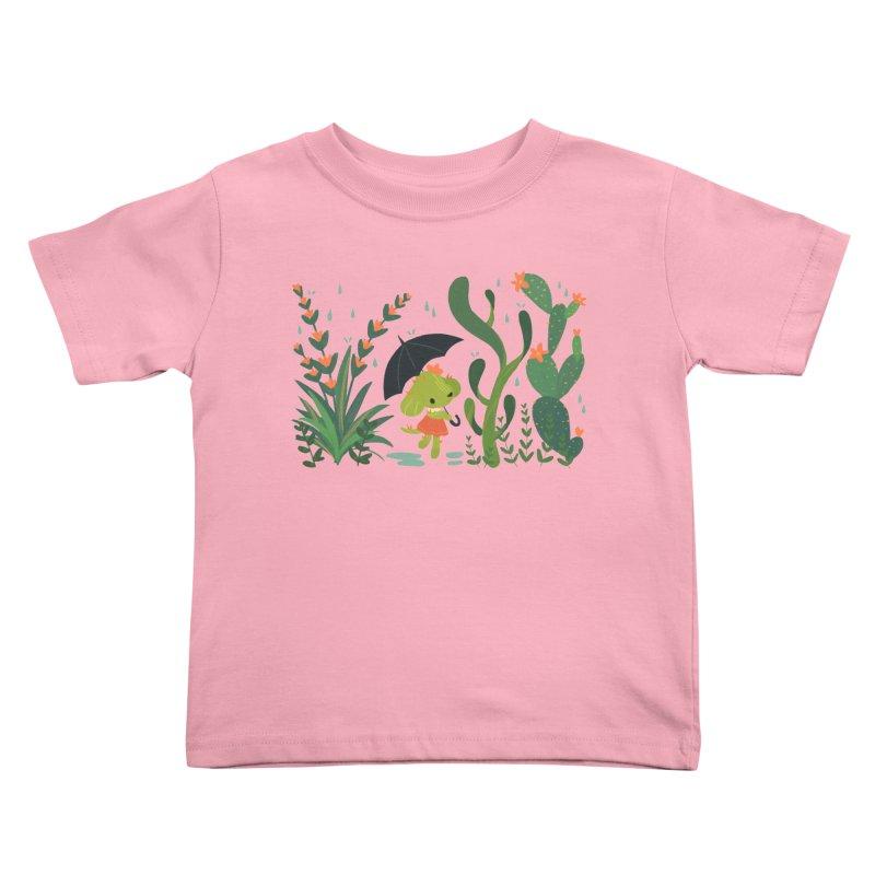 Aloe Pup Kids Toddler T-Shirt by StrangelyKatie's Store