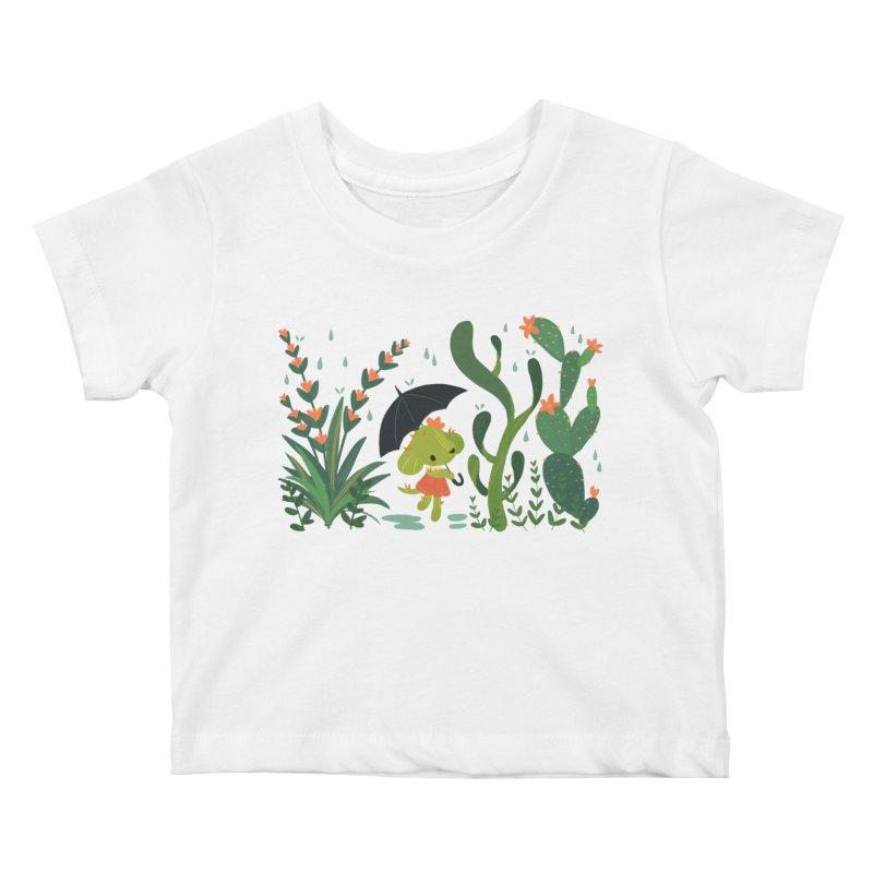 Aloe Pup Kids Baby T-Shirt by StrangelyKatie's Store