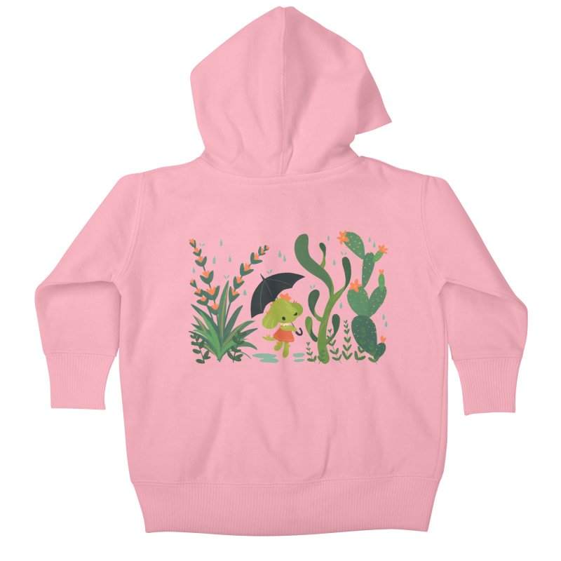 Aloe Pup Kids Baby Zip-Up Hoody by StrangelyKatie's Store