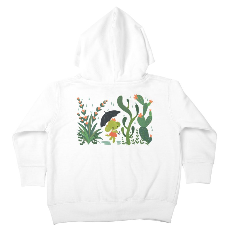 Aloe Pup Kids Toddler Zip-Up Hoody by StrangelyKatie's Store