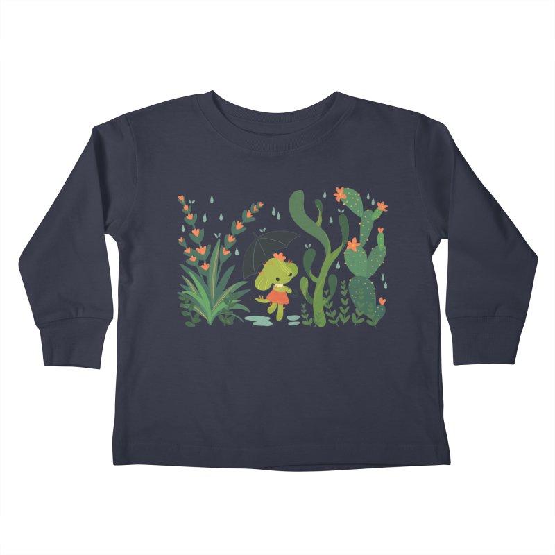 Aloe Pup Kids Toddler Longsleeve T-Shirt by StrangelyKatie's Store