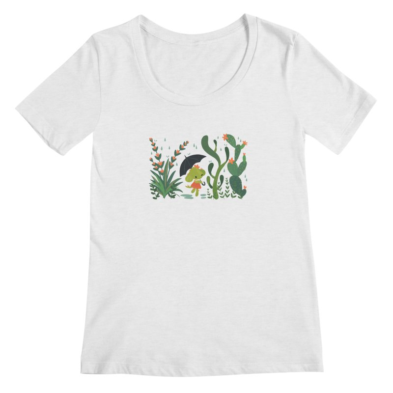Aloe Pup Women's Regular Scoop Neck by StrangelyKatie's Store