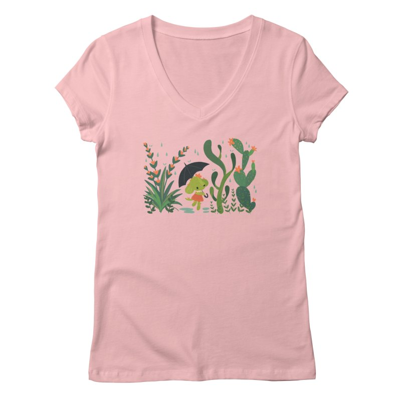 Aloe Pup Women's Regular V-Neck by StrangelyKatie's Store