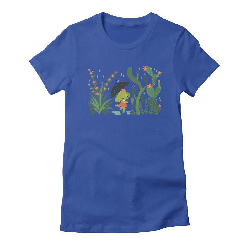 Aloe Pup Women's Fitted T-Shirt by StrangelyKatie's Store