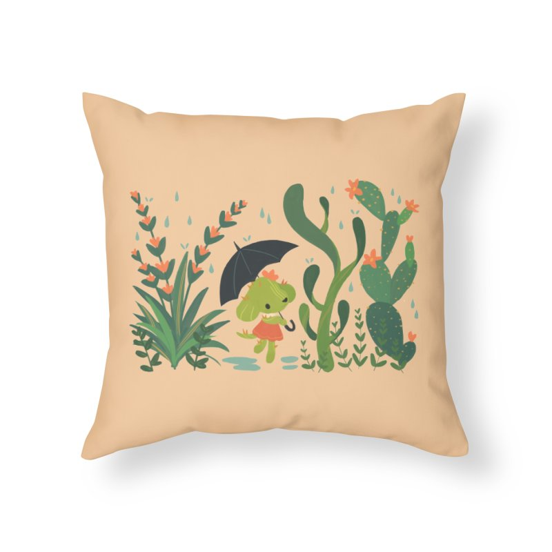 Aloe Pup Home Throw Pillow by StrangelyKatie's Store