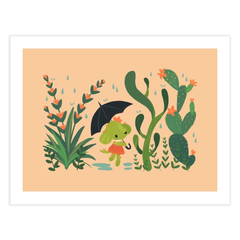 Aloe Pup Home Fine Art Print by StrangelyKatie's Store