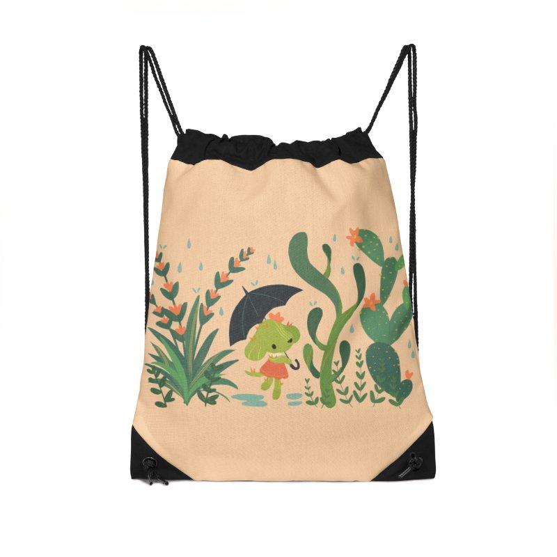 Aloe Pup Accessories Drawstring Bag Bag by StrangelyKatie's Store