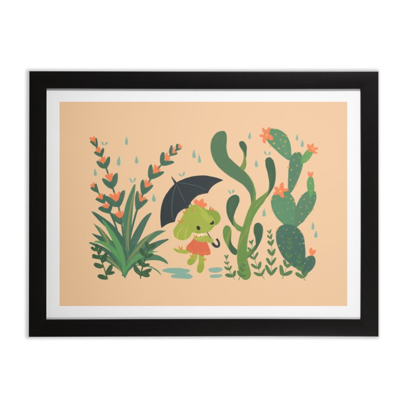Aloe Pup Home Framed Fine Art Print by StrangelyKatie's Store