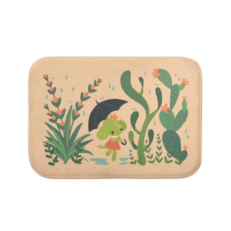 Aloe Pup Home Bath Mat by StrangelyKatie's Store