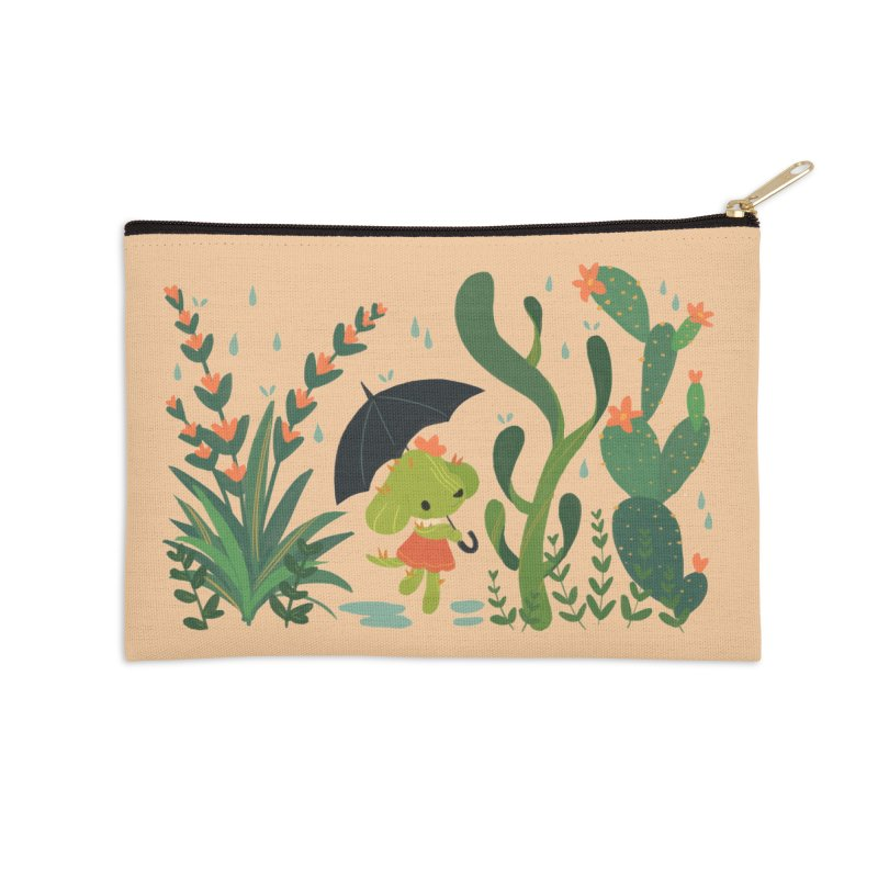 Aloe Pup Accessories Zip Pouch by StrangelyKatie's Store