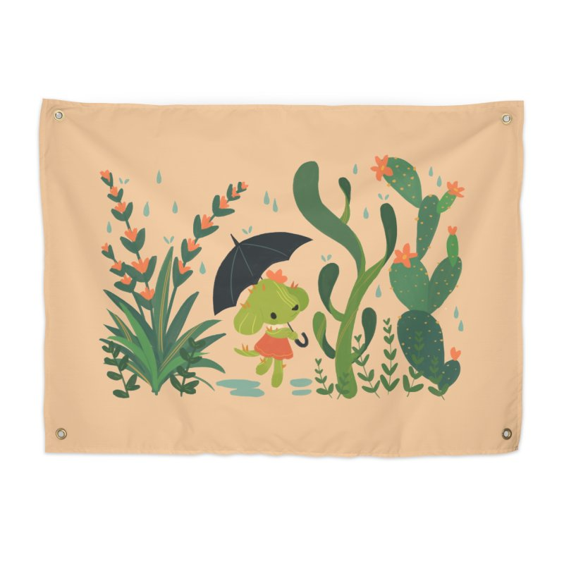 Aloe Pup Home Tapestry by StrangelyKatie's Store