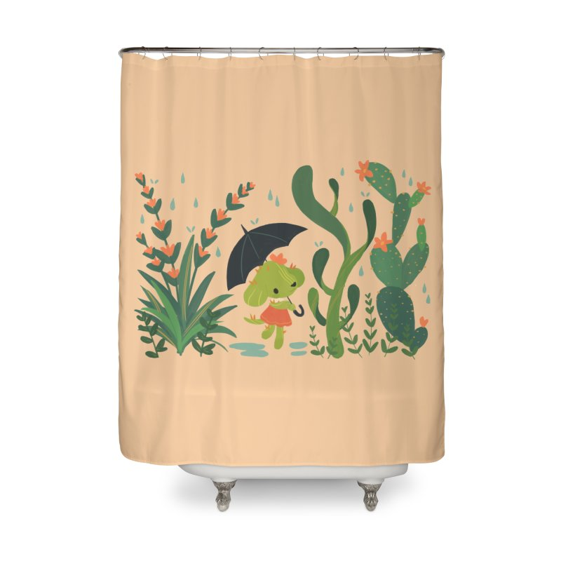Aloe Pup Home Shower Curtain by StrangelyKatie's Store