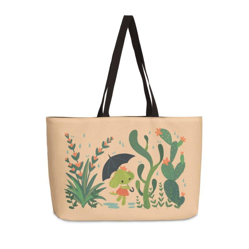 Aloe Pup Accessories Weekender Bag Bag by StrangelyKatie's Store