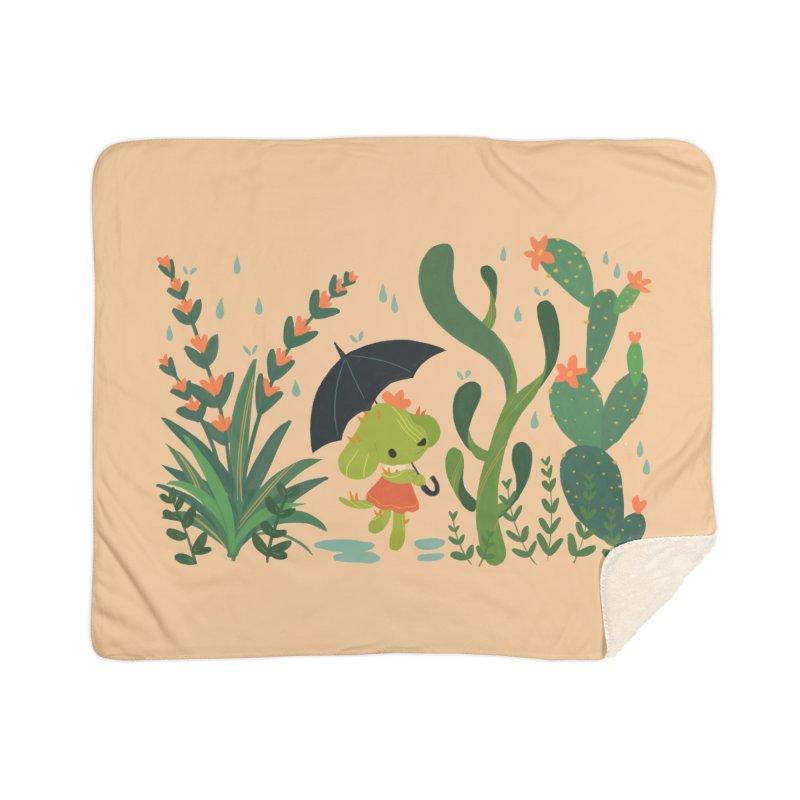 Aloe Pup Home Sherpa Blanket Blanket by StrangelyKatie's Store