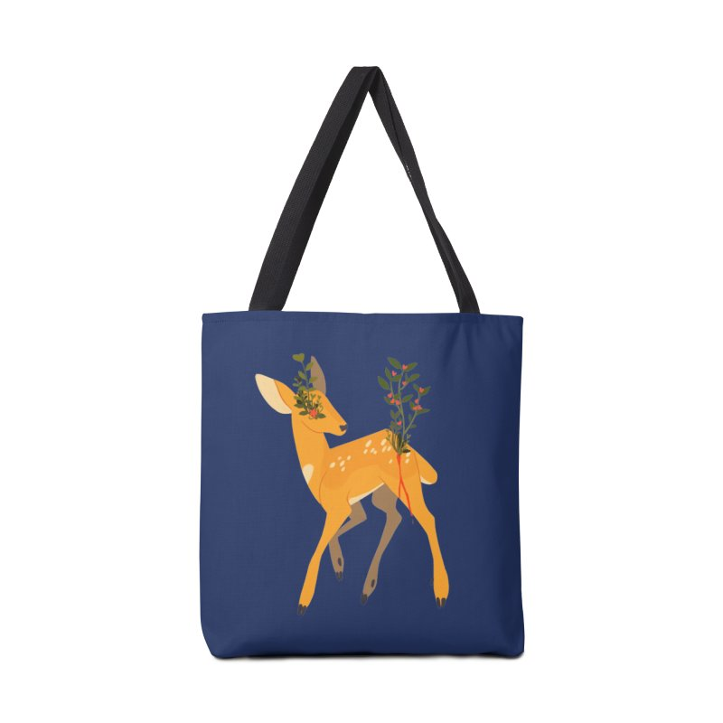 Golden Deer Accessories Tote Bag Bag by StrangelyKatie's Store