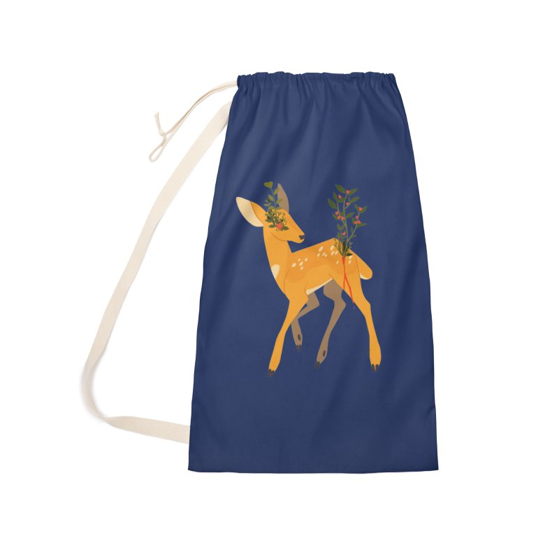 Golden Deer Accessories Bag by StrangelyKatie's Store
