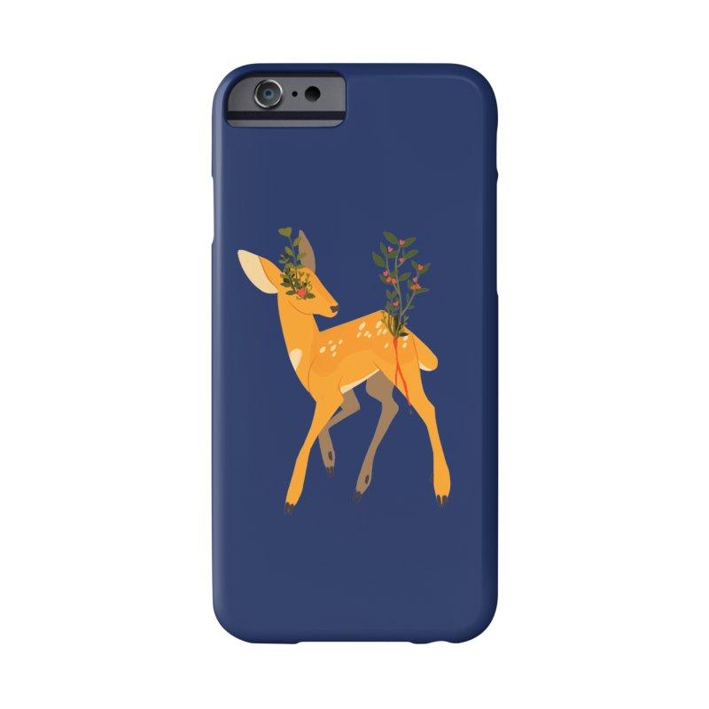 Golden Deer Accessories Phone Case by StrangelyKatie's Store