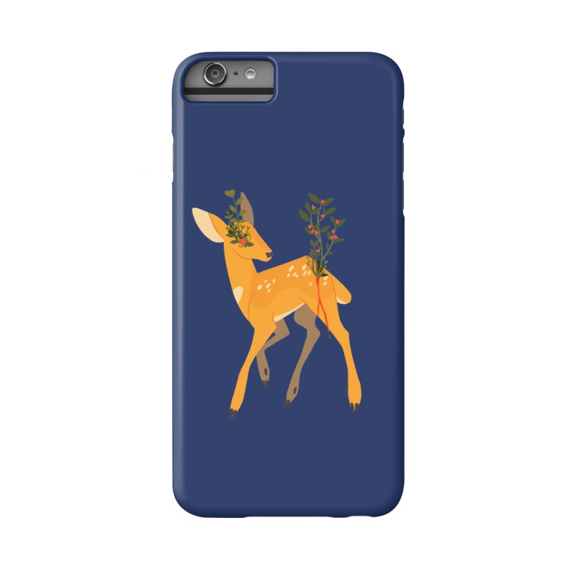 Golden Deer Accessories Phone Case by StrangelyKatie's Store