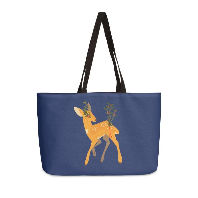 Golden Deer Accessories Weekender Bag Bag by StrangelyKatie's Store