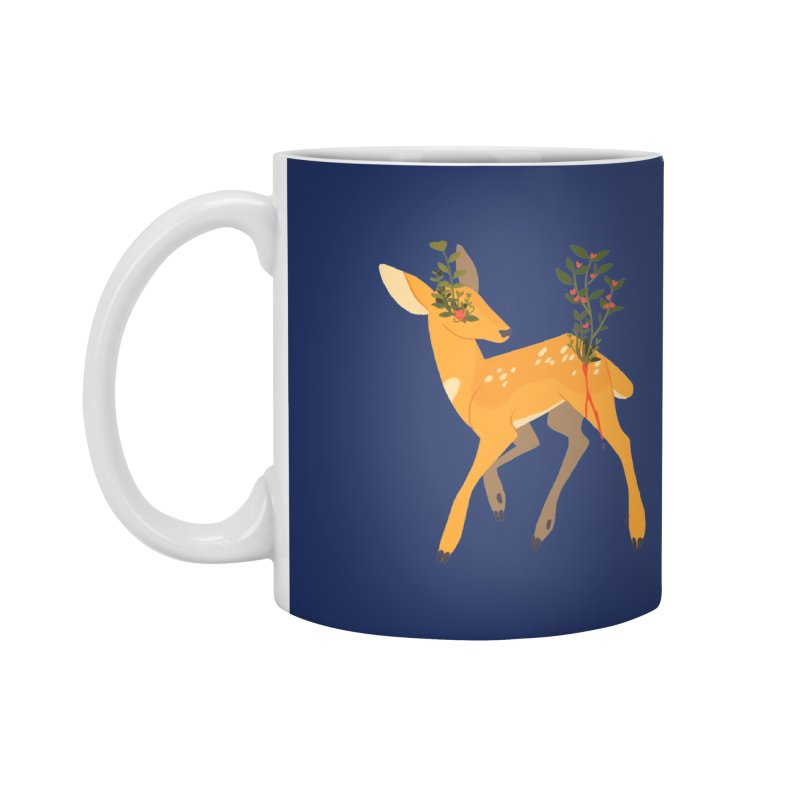Golden Deer Accessories Mug by StrangelyKatie's Store