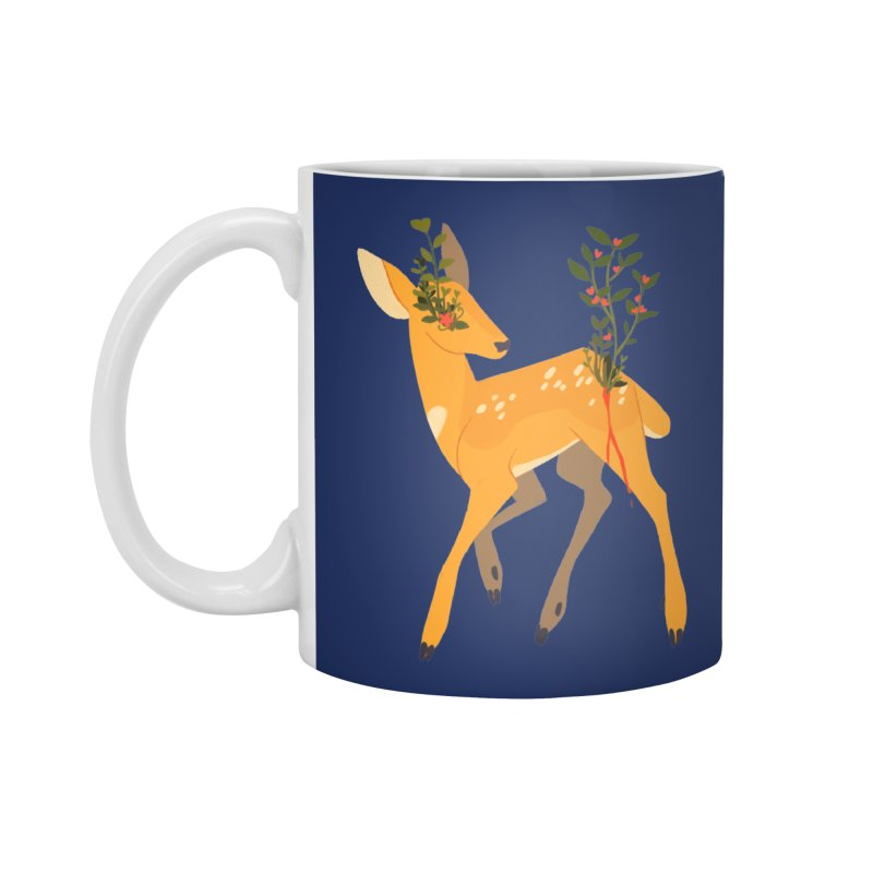 Golden Deer Accessories Standard Mug by StrangelyKatie's Store