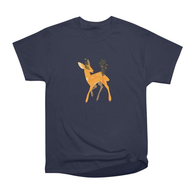 Golden Deer Women's Classic Unisex T-Shirt by StrangelyKatie's Store