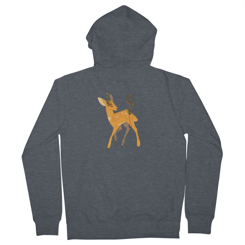 Golden Deer Women's Zip-Up Hoody by StrangelyKatie's Store