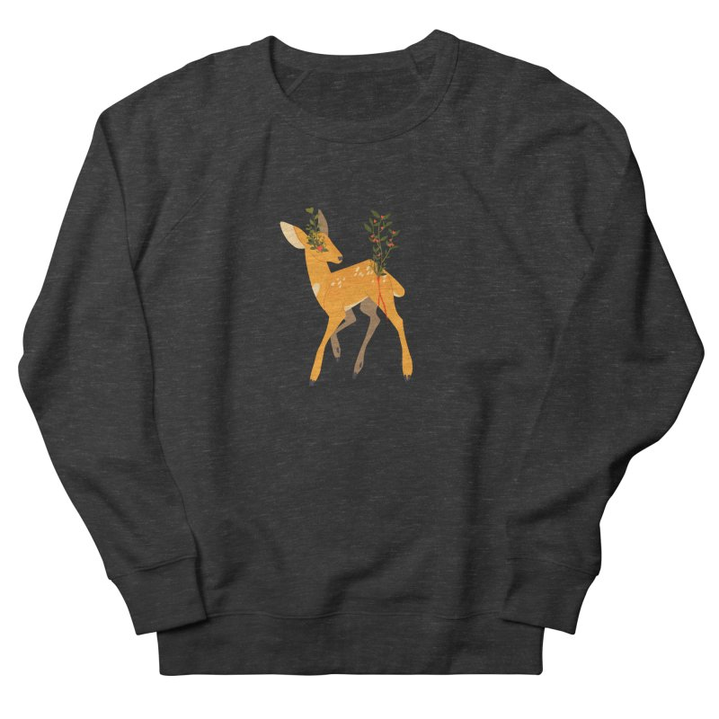 Golden Deer Women's Sweatshirt by StrangelyKatie's Store