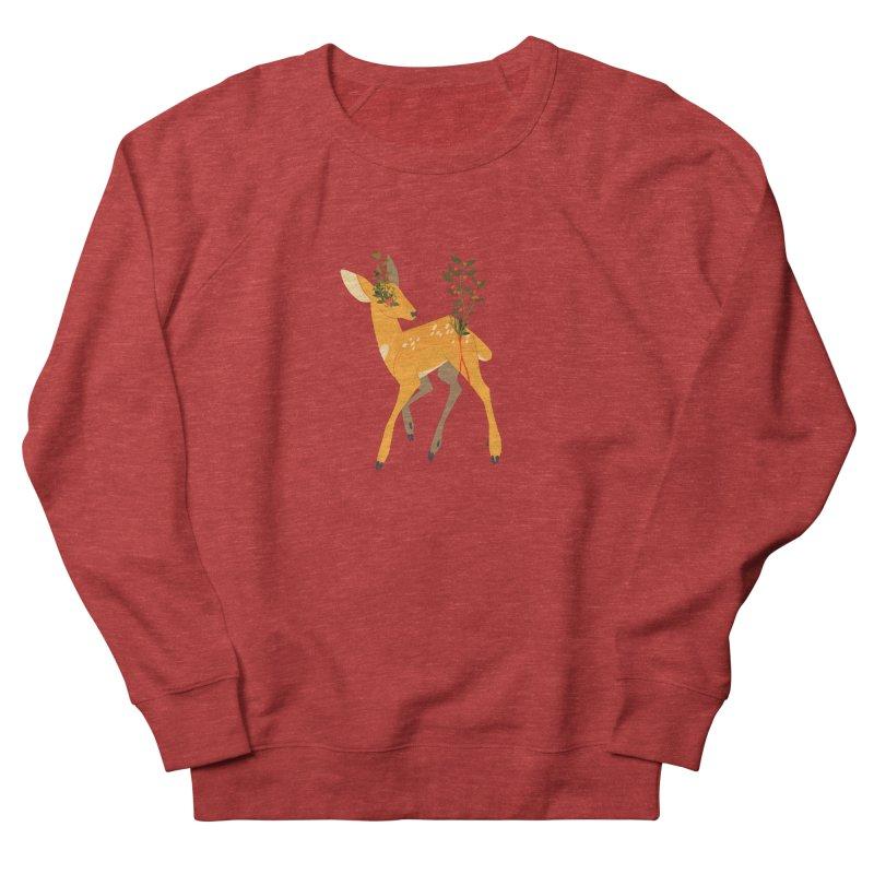 Golden Deer Women's Sweatshirt by StrangelyKatie's Store