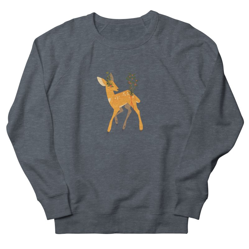 Golden Deer Men's Sweatshirt by StrangelyKatie's Store