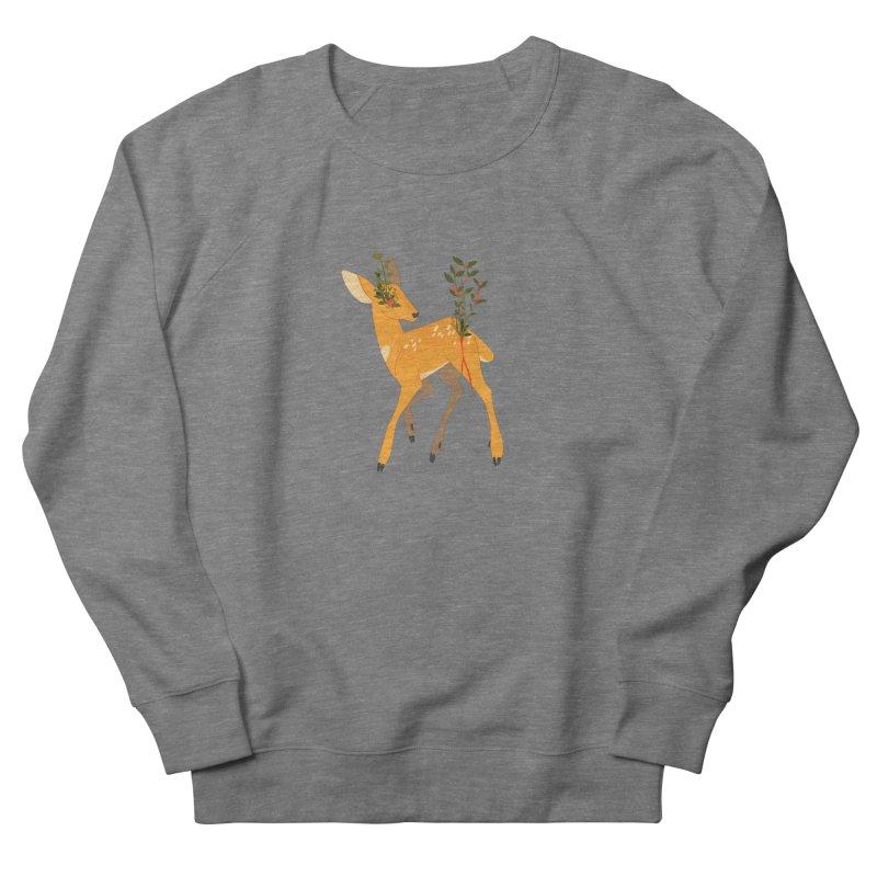 Golden Deer Men's Sweatshirt by StrangelyKatie's Store