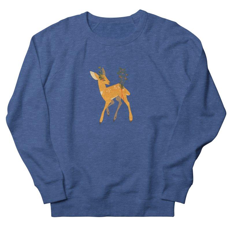 Golden Deer Men's French Terry Sweatshirt by StrangelyKatie's Store