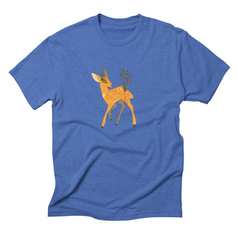 Golden Deer Men's T-Shirt by StrangelyKatie's Store