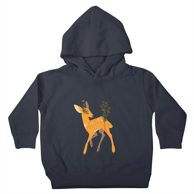 Golden Deer Kids Toddler Pullover Hoody by StrangelyKatie's Store