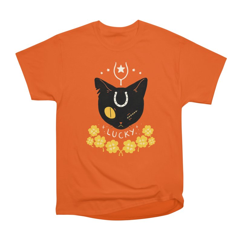 Lucky Cat Women's T-Shirt by StrangelyKatie's Store