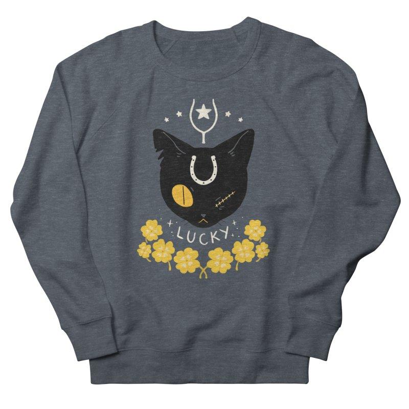 Lucky Cat Women's Sweatshirt by StrangelyKatie's Store