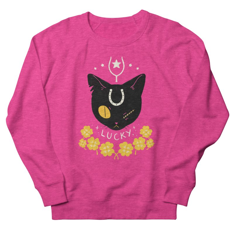 Lucky Cat Women's Sweatshirt by StrangelyKatie's Store